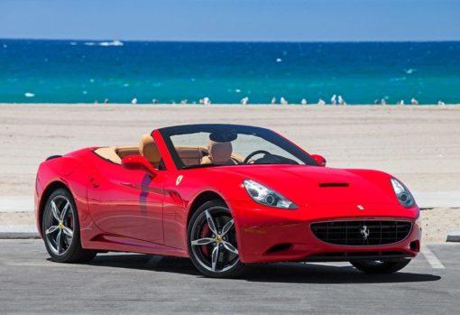 Ferrari California élmény vezetés
